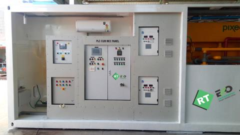 PLC cum MCC panel @ RT ECO Containerized ETP